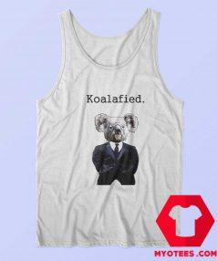 Koala Fied Funny Animal Graphic Tank Top