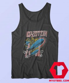 Led Zeppelin Airship Forever Vintage Tank Top