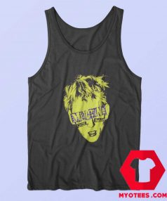 Machine Gun Kelly Yellow Portrait Tank Top