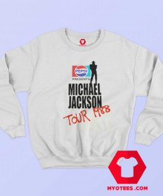 Michael Jackson BAD Pepsi 1988 Sweatshirt