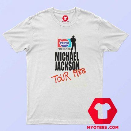 Michael Jackson BAD Pepsi 1988 T Shirt