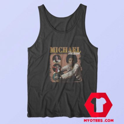 Michael Jackson Bootleg Tribute Tank Top
