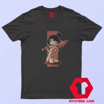 Mulan The Girl With The Dragon Tattoo T Shirt