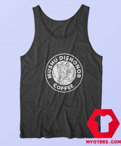 Mushu Dishonor Coffee Dragon Mulan Tank Top