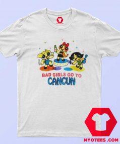 Powerpuff Girls Cancun Novelty Unisex T Shirt