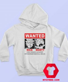 Rick and Morty Interdimensional Wanted Hoodie