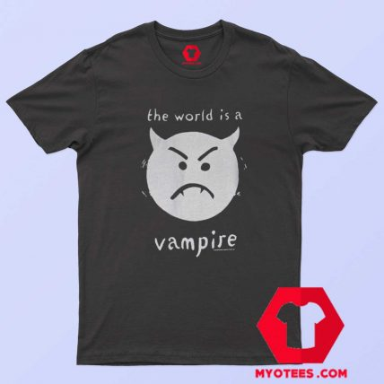 Smashing Pumpkins The World Is A Vampire T Shirt
