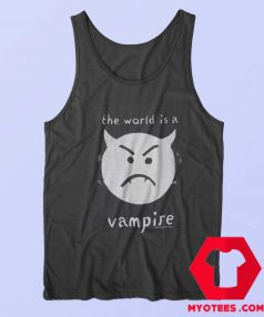 Smashing Pumpkins The World Is A Vampire Tank Top