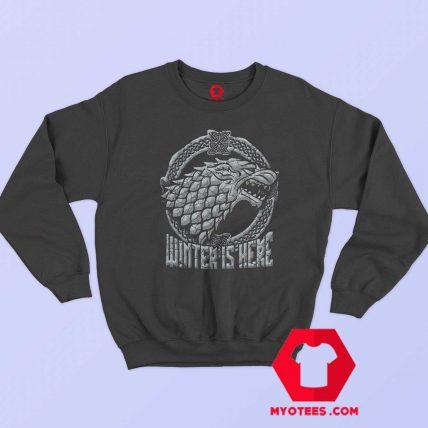 Stark Head Game of Thrones Winter Is Here Sweatshirt