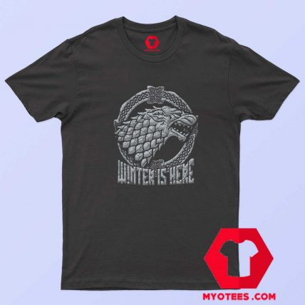 Stark Head Game of Thrones Winter Is Here T Shirt