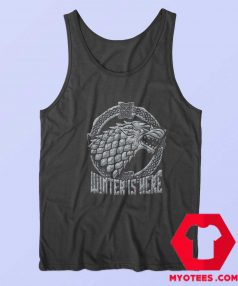 Stark Head Game of Thrones Winter Is Here Tank Top