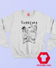 Supreme Parody RIP Daniel Johnston Sweatshirt