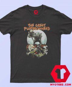 The Great Pumpkinhead Chasing Peanuts T Shirt