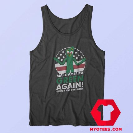 The Gumby For President Unisex Tank Top