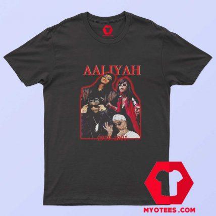 Vintage Aaliyah Dana Haughton Singer T Shirt