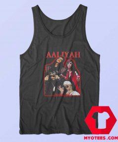 Vintage Aaliyah Dana Haughton Singer Tank Top