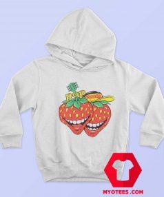 Vintage Pop Rocky Strawberry Magazine Hoodie