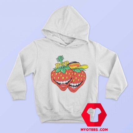 Vintage Pop Rocky Strawberry Magazine Hoodie