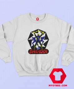 Vintage Shinobi Sega Video Games Sweatshirt