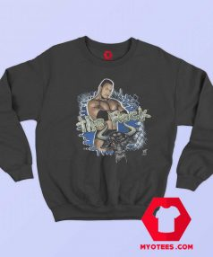 Vintage WWE 1999 Authentic The Rock Sweatshirt