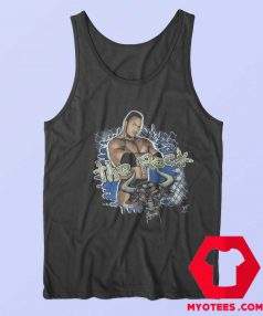 Vintage WWE 1999 Authentic The Rock Tank Top