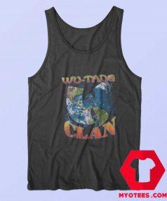 Vintage Wu Tang Clan Earth Logo Tank Top