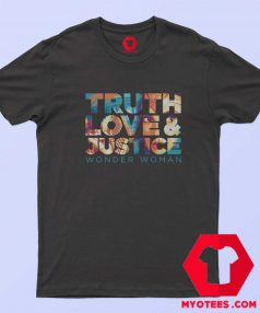 WW 1984 Truth Love And Justice Girls T Shirt Tshirt