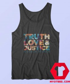WW 1984 Truth Love And Justice Girls Tank Top