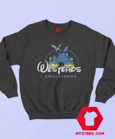 Westeros Kings Landing Parody Disney Sweatshirt