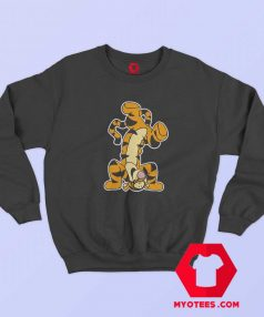 Winnie The Pooh Actio Tigger Cartoon Sweatshirt