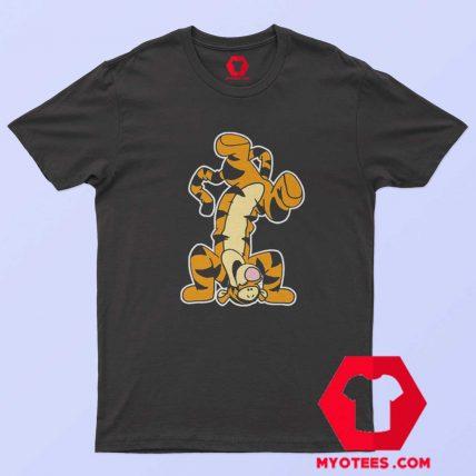 Winnie The Pooh Actio Tigger Cartoon T Shirt