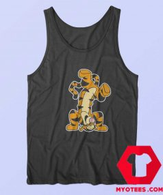 Winnie The Pooh Actio Tigger Cartoon Tank Top