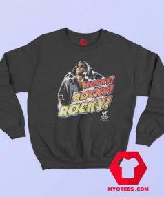 Wwf Rocky The Rock The Peoples Chant Sweatshirt
