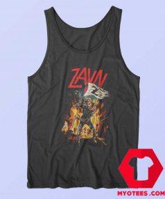Zayn Malik Zombies Slayer Flag Tank Top