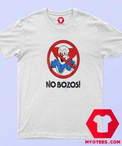 Awesome Vintage No Bozos Unisex T Shirt