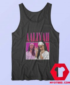 Awesome Vintage Retro Aaliyah 90S Rapper Tank Top