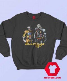 Bravestarr And Thirty Cartoon Superhero Sweatshirt