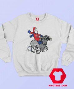Bud Man Budweiser Batman Soaking Sweatshirt