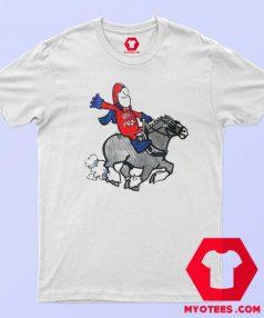 Bud Man Budweiser Batman Soaking Unisex T Shirt