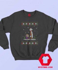 Calvin and Hobbes Mery Christmas Unisex Sweatshirt