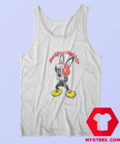 Cute Bunny Loved Masked Rabbit Tank Top