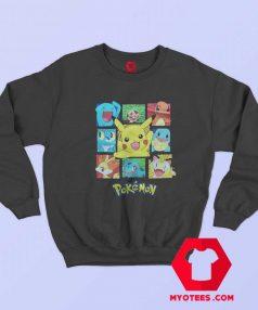 Cute Cartoon Pokemon Characters Unisex Sweatshirt