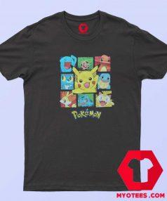 Cute Cartoon Pokemon Characters Unisex T Shirt