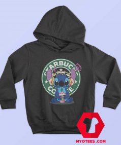 Cute Disney Stich Parody Coffee Starbucks Hoodie