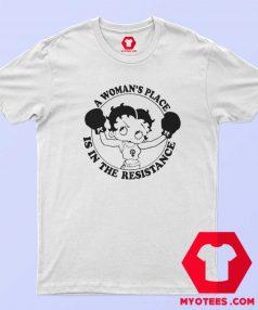 Cute Feminist AF Betty Boop Unisex T Shirt
