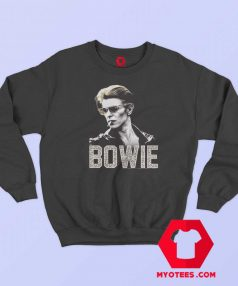 David Bowie The Man Photo Leopard Sweatshirt