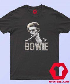 David Bowie The Man Photo Leopard T Shirt