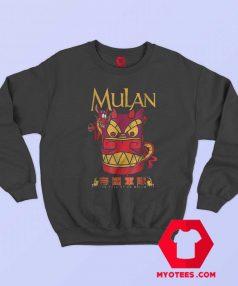 Disney Mulan Mushu Dragon Stone Head Sweatshirt