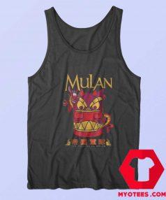 Disney Mulan Mushu Dragon Stone Head Tank Top