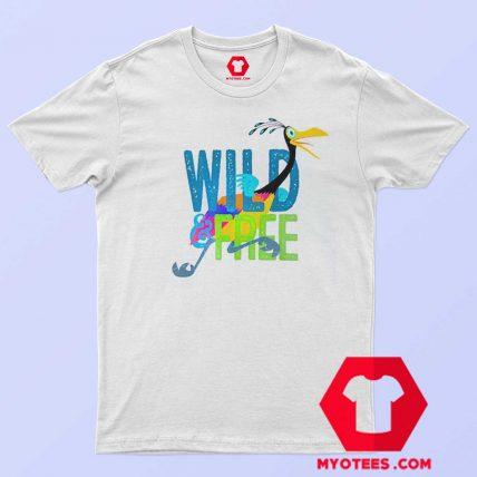 Disney Pixar Kevin Wild Free Unisex T Shirt